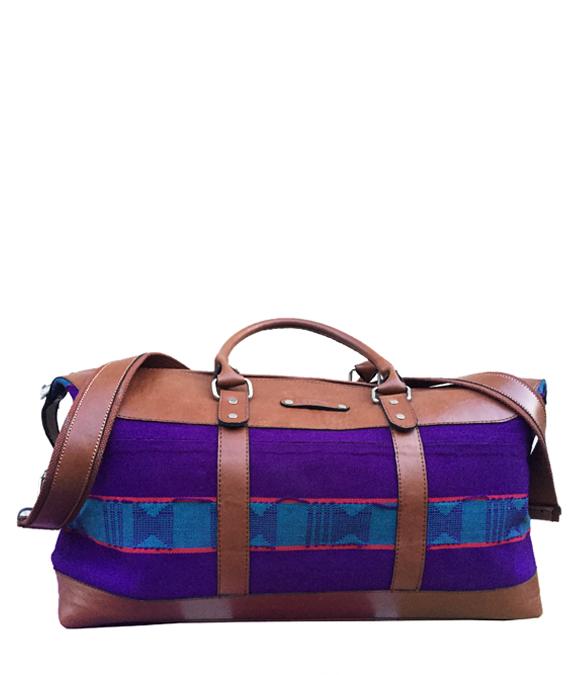 8f9c0ccec242 AJALA ORIKI PURPLE DUFFLE BAG. In stock   Shipping Available. AJALA ...